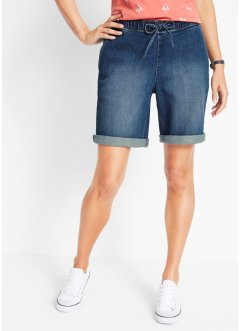 Jeans-Shorts mit Komfortbund in Bermuda-Länge, bpc bonprix collection