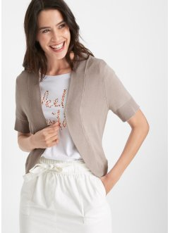 Strickbolero, Kurzarm, bpc bonprix collection