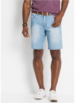 Jeans-Bermuda in Sommerdenim, Regular Fit, John Baner JEANSWEAR