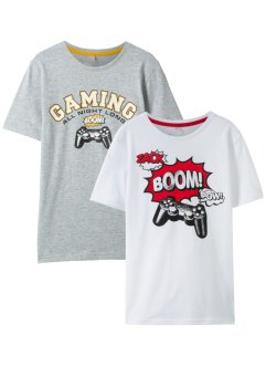 Lot de 2 T-shirts, bpc bonprix collection