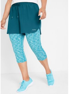 2in1 Capri-Funktions-Sport-Leggings, bpc bonprix collection