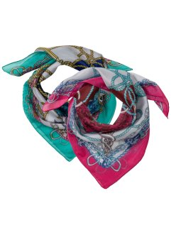 Lot de 2 foulards, bpc bonprix collection