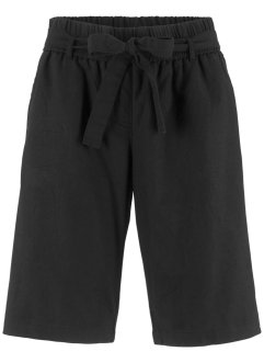Leinen-Shorts mit Bindeband, bpc bonprix collection