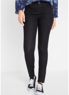 Multi-Stretch-Skinny-Jeans mit Applikationen, John Baner JEANSWEAR