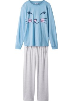 Pyjama (2-tlg. Set) Bio-Baumwolle, bpc bonprix collection