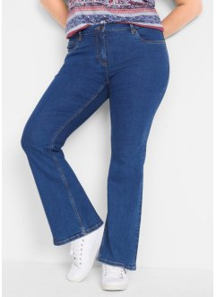 Authentic-Stretch-Schlagjeans, Flared, John Baner JEANSWEAR