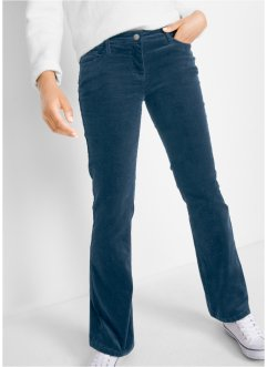 Pantalon velours côtelé, bootcut, bpc bonprix collection