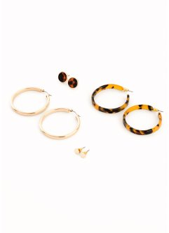 Lot de boucles d'oreilles (8 pces.), bpc bonprix collection