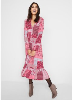 Robe midi style patchwork Maite Kelly, bpc bonprix collection