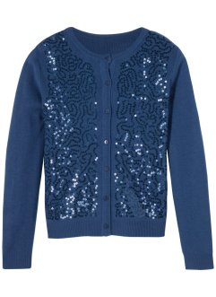 Gilet en maille à paillettes, bpc bonprix collection