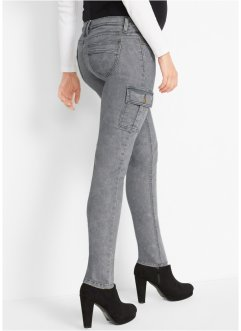 Pantalon de grossesse cargo aspect délavé, bpc bonprix collection
