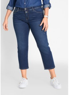 Soft-Stretch-Jeans, verkürzt, STRAIGHT, John Baner JEANSWEAR