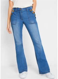 Nachhaltige Jeans, Recycled Polyester, Bootcut, bpc bonprix collection