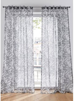 Voilage semi-transparent imprimé (1 pce.), bpc living bonprix collection