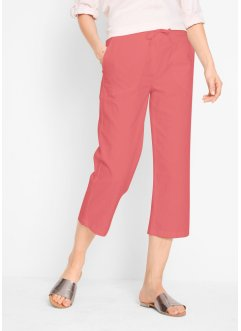 Leinen-3/4-Hose, bpc bonprix collection