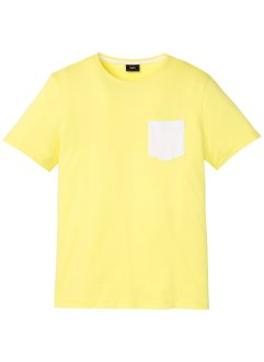 T-shirt avec poche contrastante, bpc bonprix collection