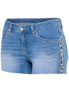 Short en jean avec application, BODYFLIRT