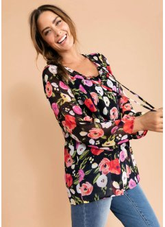 Shirt mit Blumenmuster, bpc bonprix collection