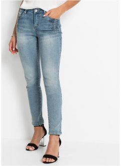 Jean skinny avec application, BODYFLIRT