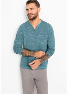 Henleyshirt, Langarm, bpc bonprix collection