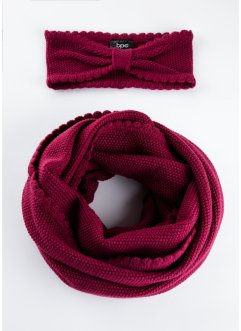 Ensemble snood et bandeau (Ens. 2 pces.), bpc bonprix collection