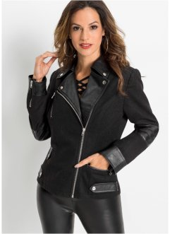Veste biker, BODYFLIRT boutique