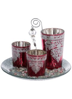 Teelichthalter-Set, 5tlg. Set, bpc living bonprix collection