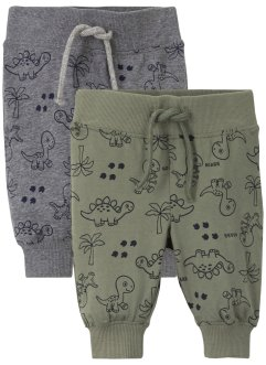 Baby Jersey-Hose (2er Pack) Bio-Baumwolle, bpc bonprix collection