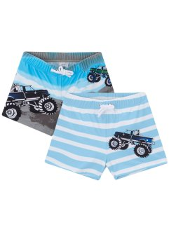 Lot de 2 boxers de bain garçon, bpc bonprix collection