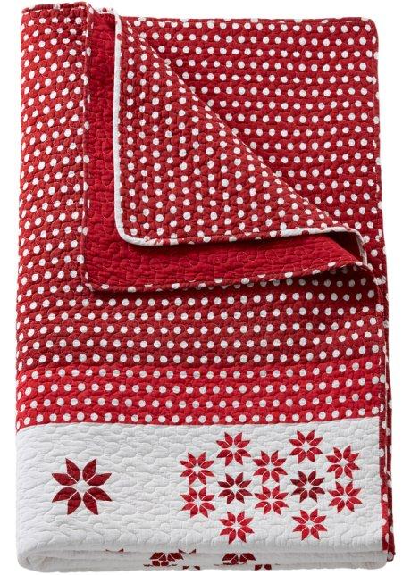 couvre lit noel Couvre lit Noël rouge   bpc living acheter online   fr.bonprix.ch couvre lit noel
