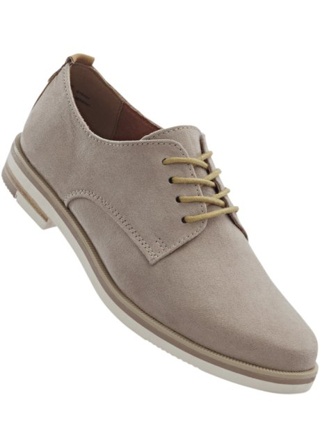 ch À Taupe Femme Collection Bpc Bonprix bonprix Derbies Lacets Fr rBdoWQCxe
