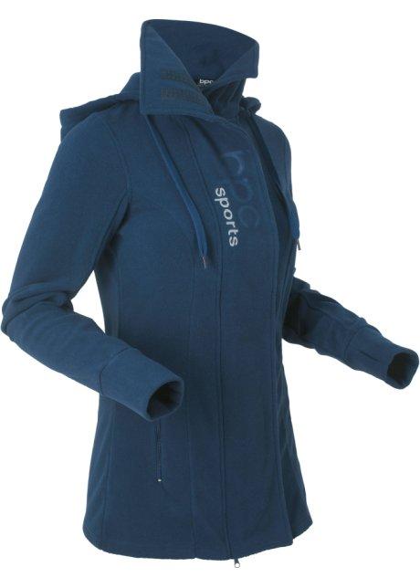Veste longue en polaire femme