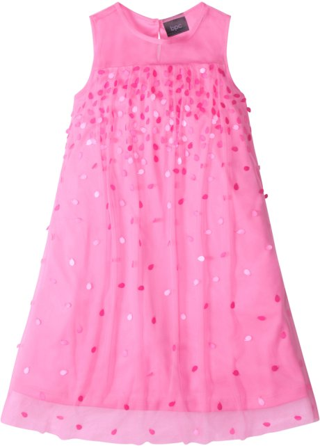 Partykleid mit Pailletten rosa - Kinder - bonprix.ch