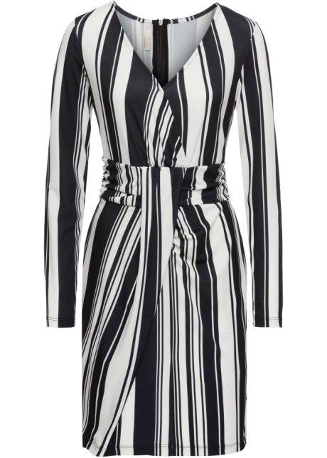 0105cd145892e Kleid mit Streifen schwarz/weiss gestreift - Damen - bonprix.ch
