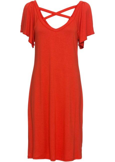 Shirtkleid rot - Damen - RAINBOW - bonprix.ch 061e79f81c