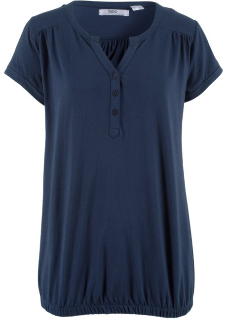 bpc bonprix Shirt dunkelblau Gr 48//50