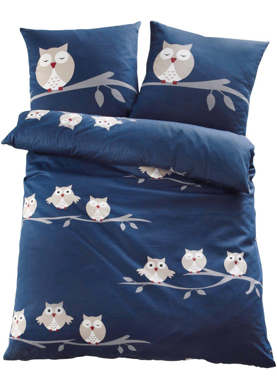 ein sch ner blickfang die bettw sche lea blau linon. Black Bedroom Furniture Sets. Home Design Ideas