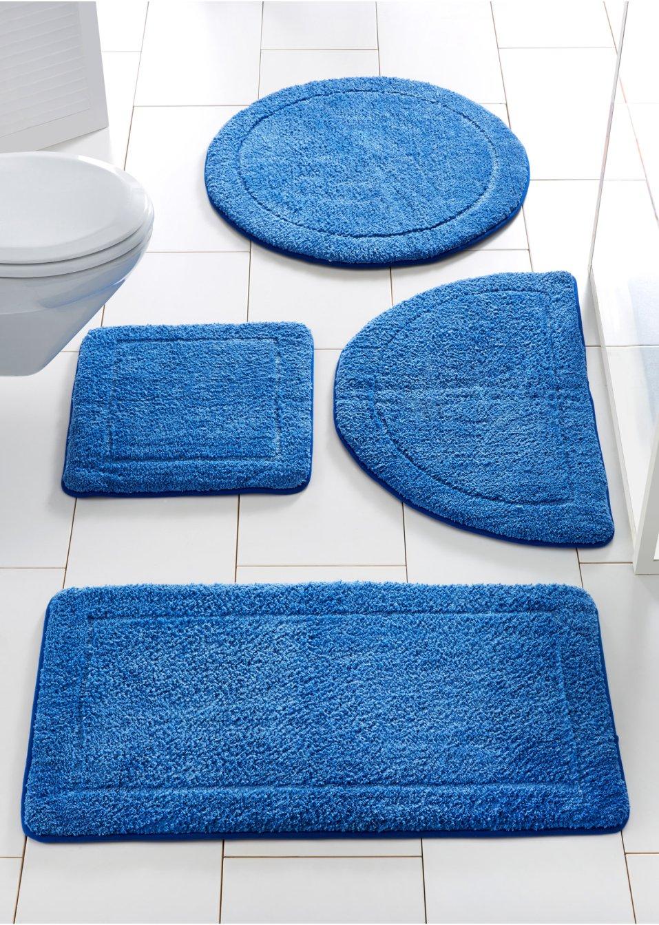 superweiche dank memory schaum die badematte emilie blau. Black Bedroom Furniture Sets. Home Design Ideas