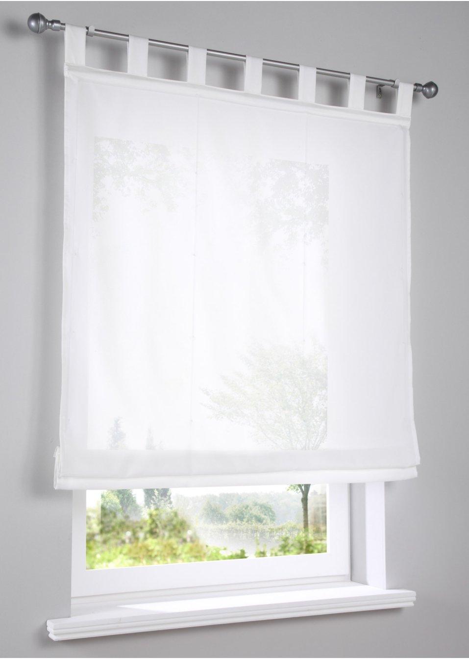 raffrollo silja natur bpc living. Black Bedroom Furniture Sets. Home Design Ideas