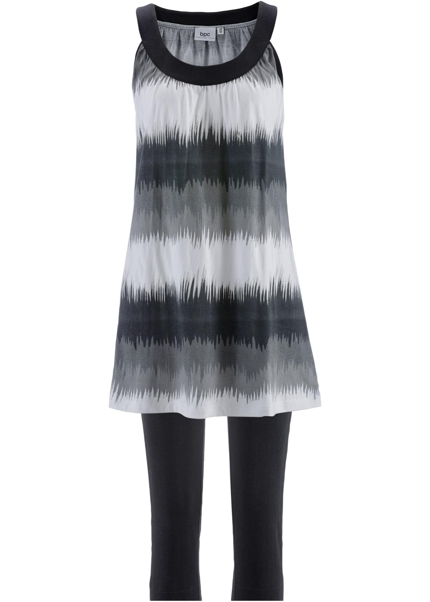 Kleid+Capri-Leggings (2-teiliges Set)