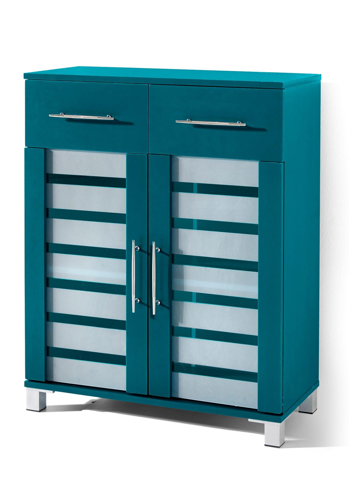Image of Badezimmer Schrank mit 2 Türen und 2 Schubladen
