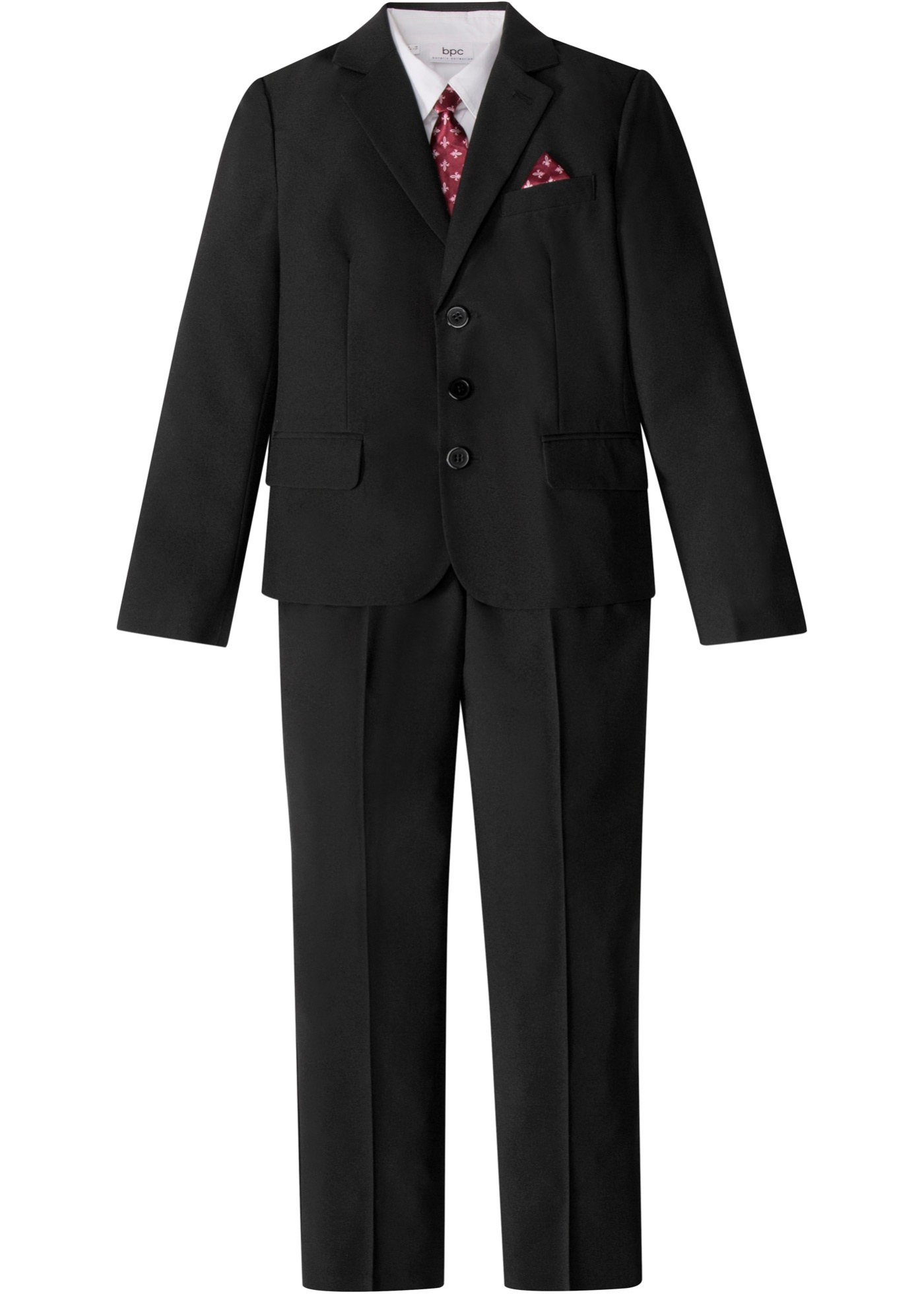 Image of Jungen Anzug + Hemd + Krawatte (4-tlg. Set)