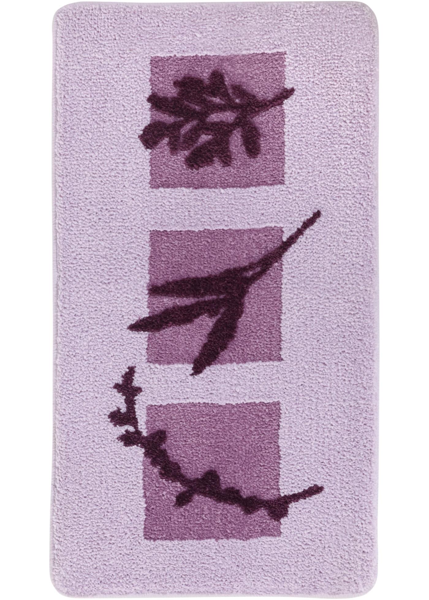 Image of Badematte mit floralem Design