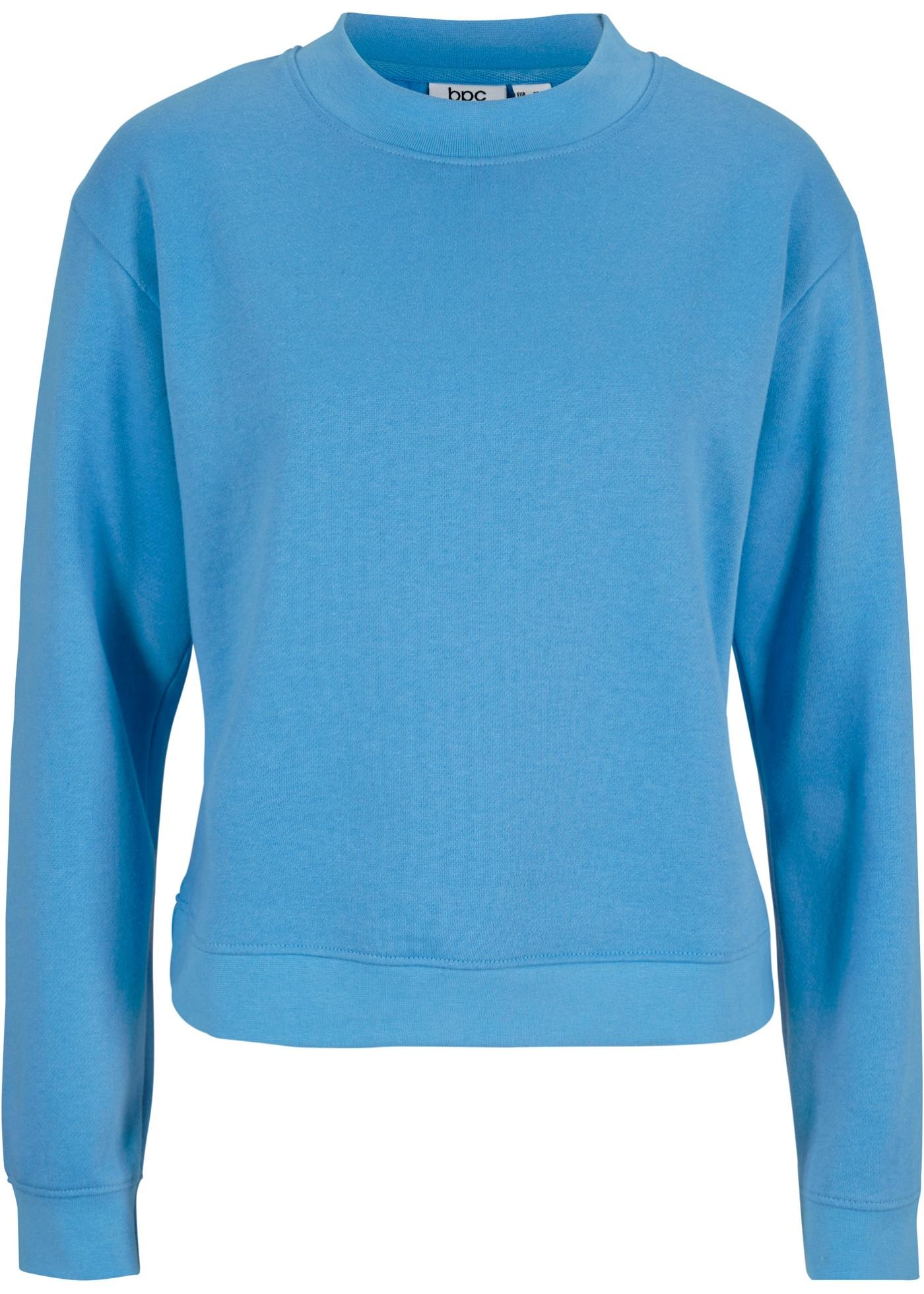 Image of Basic Sweatshirt mit Stehkragen