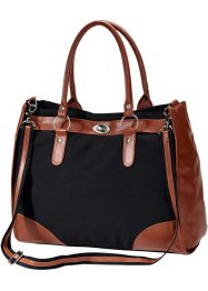 Sac, bpc bonprix collection, noir/marron