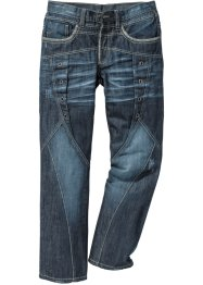 Jeans STRAIGHT, RAINBOW, dark blue used