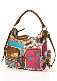 Sac Multi, bpc bonprix collection, marron multicolore