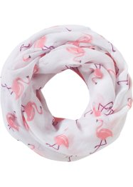 Loop Flamingo, bpc bonprix collection, weiss/rosa