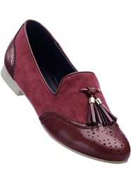 Slipper, bpc selection, bordeaux/gold
