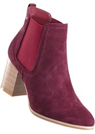 Stiefelette, bpc bonprix collection, bordeaux